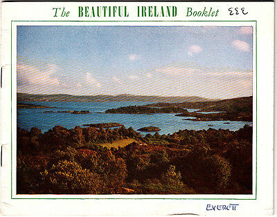 The Beautiful Ireland Booklet In Full Colour Pictures Vintage Booklet