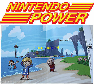 Nintendo Power Double-sided Posters NEW Unused Wii GBA DS Mario Zelda and more!
