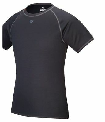 Pearl Izumi Mens Cycling Transfer Short Sleeve Baselayer T Shirt - Black - Large