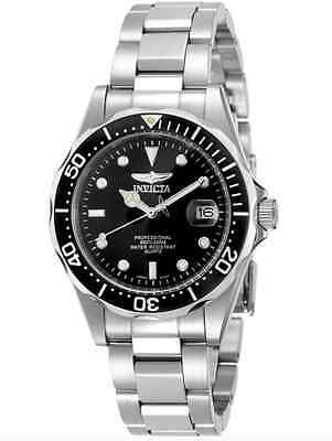 Invicta Mens Watch Pro Diver Collection Stainless Steel Bracelet Swiss Dial, New