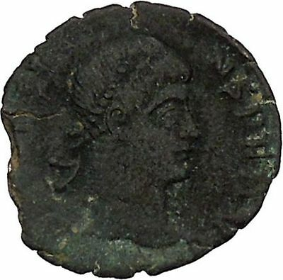 CONSTANS Constantine the Great son Ancient Roman Coin Wreath of success i45832