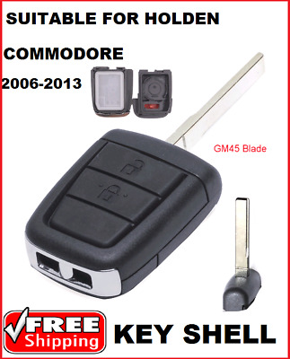 2B  Remote Car key blank Shell suitable for Holden VE Commodore  ute Wagon