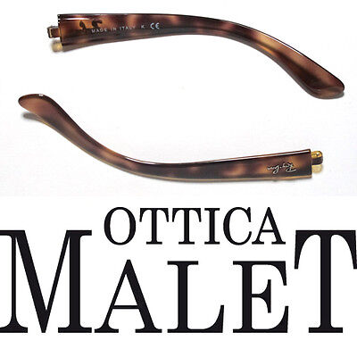 Aste Ricambio Ray Ban 4068 642 Havana Avana Replacement Side Arms Temples Astes