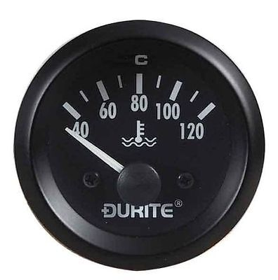Durite 12V 52mm Water or Coolant Temperature Kit Car Dashboard Gauge - 0-523-23