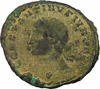 CONSTANTINE II Constantine the Great son Ancient Roman Coin Camp Gate  i45843