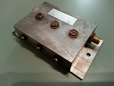 2,4 Ghz microwave band pass filter