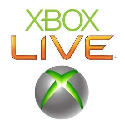 10 x Xbox Live 2 Day 48 Hour Trial Membership Code Fast Delivery DLC 360 or One