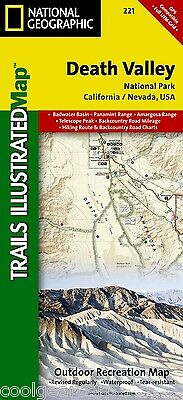 National Geographic Trails Illustrated CA Death Valley National Park Map 221