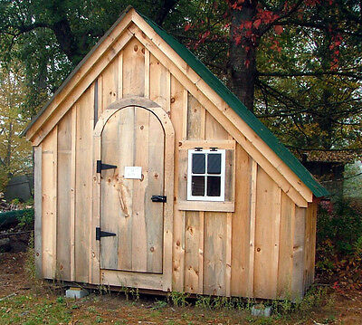 Hardware Shed Plans - Yard/Garden/Tool/Outdoor Storage, DIY PLANS