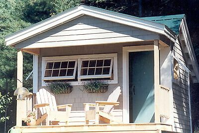Potting Shed DIY Plans - Garden Shed/Storage/Tool/Yard/Pool DIY PROJECT PLANS