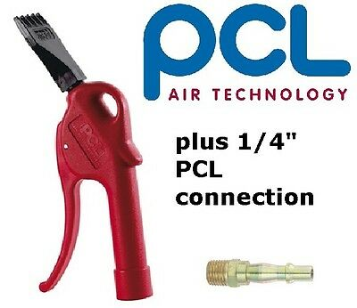 """PCL Safety Blowgun Air Curtain Nozzle High Power Tool + free pcl 1/4"""" adaptor"""