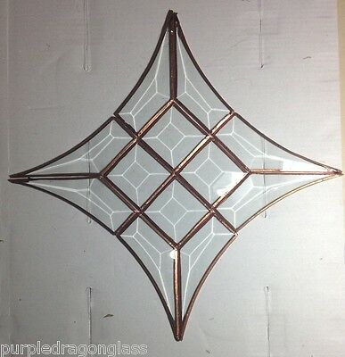 DIY 12 piece bevel cluster / stained glass supplies