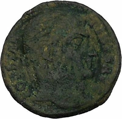 CONSTANTINE I the GREAT Ancient Roman Coin Military Camp gate  i45865