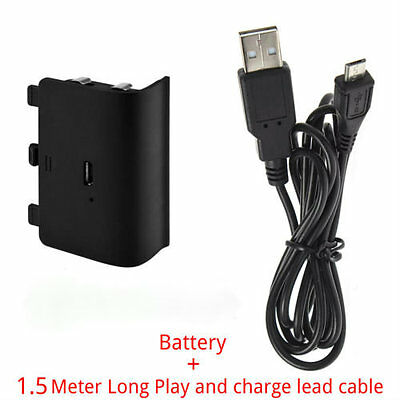 Rechargeable Battery Power Pack + Play&Charge Cable for Xbox One Controller