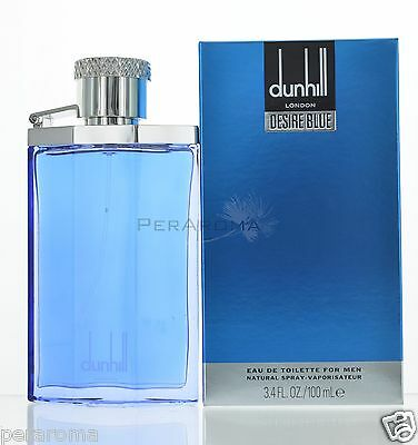 Dunhill Desire Blue by Alfred Dunhill for Men EDT 3.4 OZ 100 ML Spray