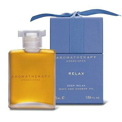 Aromatherapy Associates Relax Deep Relax Bath Shower Oil 55ml Body Natural#3497