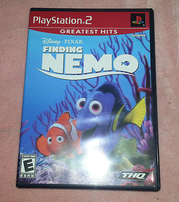 Sony Playstation 2 PS2 Finding Nemo Video Game - Used