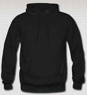 OFFERTISSIMA Felpa con Cappuccio Footex Made in Italy Nera Sweet Hoodie