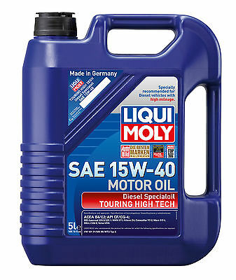 Liqui Moly Touring High Tech Diesel Special Engine Oil SAE 15W-40 5L 2044