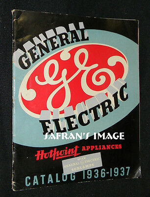 1936 General Electric Hotpoint APPLIANCES CATALOG Collectors MUST L@@K