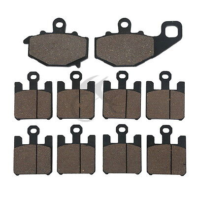 Motorcycle Front Rear Brake Pads For KAWASAKI ZX6R ZX636 NINJA 2003-2006 04 2005