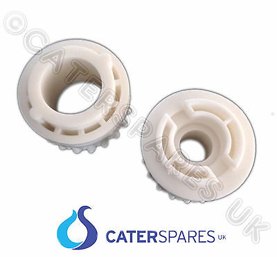 Pizza Group White Plastic Pinnion Front & Rear Cogs Dough Roller Stretcher Parts
