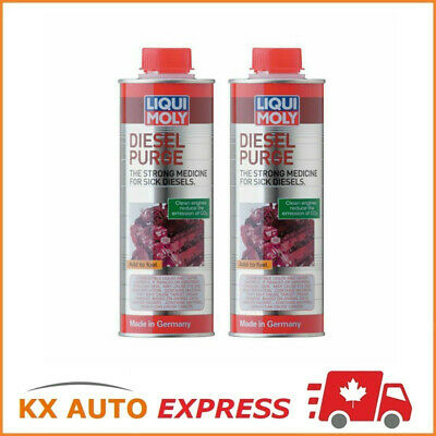 2x Liqui Moly Diesel Purge Fuel & Injection System Cleaner 500ml LiquiMoly