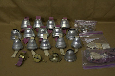Lot of 16 Miller Chimneyless Kerosene Oil Burners with Wicks, and Extra Parts