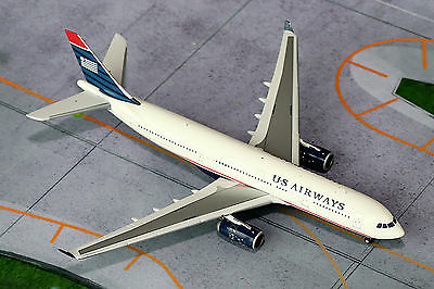 Gemini Jets US Airways Airbus A330-200 GJUSA1125 1/400, REG# N280AY. New