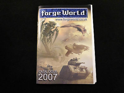 Forge World Collectors Catalogue + Supplement 2007