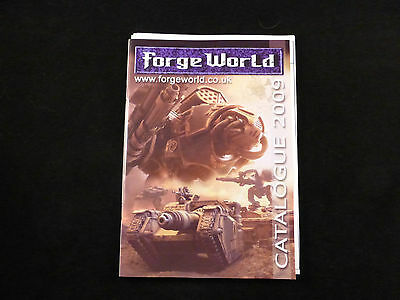 Forge World Collectors Catalogue + Supplement 2009