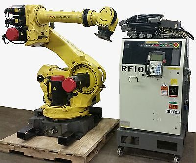 Fanuc Robot S-430iW with Rj3 Controller - TESTED – Clean – LOW HOURS- Complete