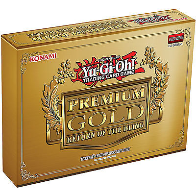 Yu-Gi-Oh! Premium Gold Pack 2 Return Of The Bling - Booster Pack/box 2015 Cards