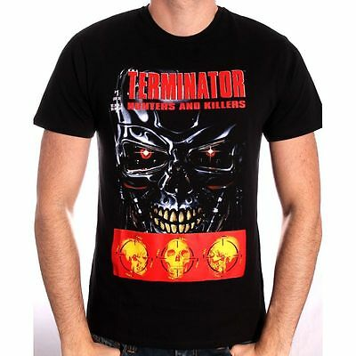 Official Terminator Hunters And Killers #1 Comic Cover Black T-Shirt (New)