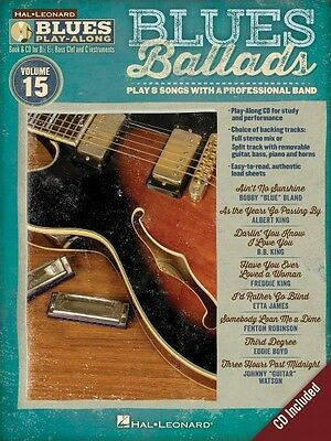 Blues Classics Sheet Music Blues Play-Along Book and CD NEW 000843177
