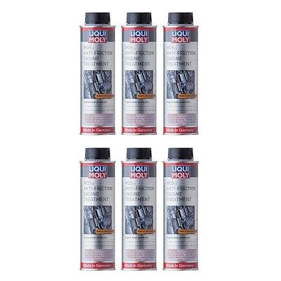 6x Liqui Moly MoS2 Anti-Friction Engine Oil Treatment 300ml LiquiMoly