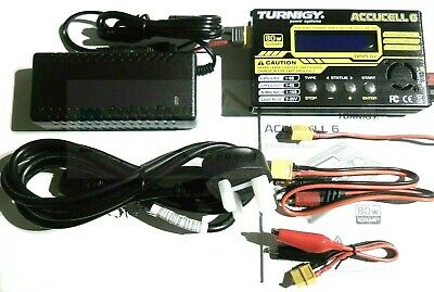 Turnigy Accucel 6 V2 - 80w 10A Balance Charger + Power Supply - LiPo NiMh iMax