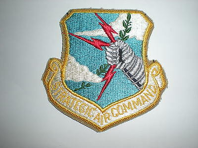 Usaf Strategic Air Command Sac Patch - Color