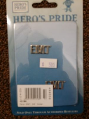 E.M.T. Rank Insignias GOLD in color - Smooth Finish 3/8