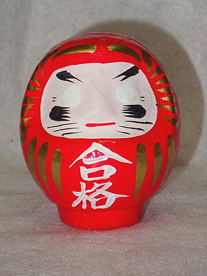 Japanese DARUMA For Passing Examination Hand Painted Made In Japan