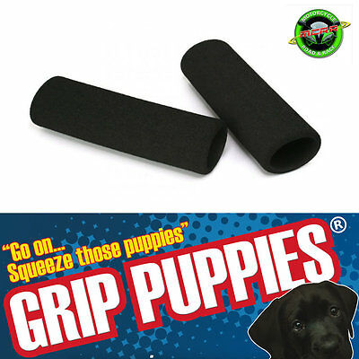 Grip Puppies - Motorcycle Foam Covers Reduces Vibration fits over Heated Grips