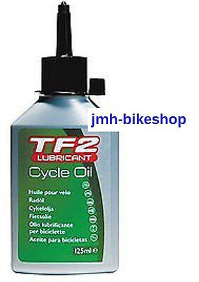 TF2 Cycle oil Weldtite Lubricant Bicycle Chain Cable mountain road bike 125ml