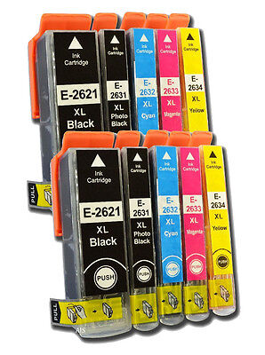 Compatible Ink Cartridge Replace For Epson 26 26XL C13T26264010 C13T26364010 NON