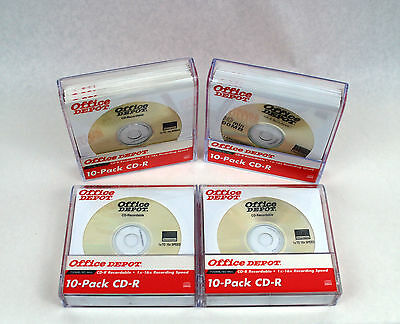 Office Depot CD-R Recordable 700MB 1x-16x Recording Speed 40 Discs