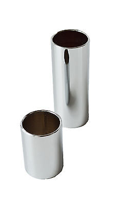 1113 Chrome Guitar Slide PACK of 2 EXTRA LARGE finger knuckle 25mm any XL XXL