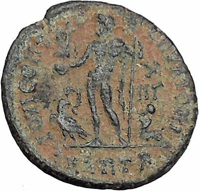 Licinius I Constantine The Great enemy 321AD Ancient Roman Coin Jupiter i47021