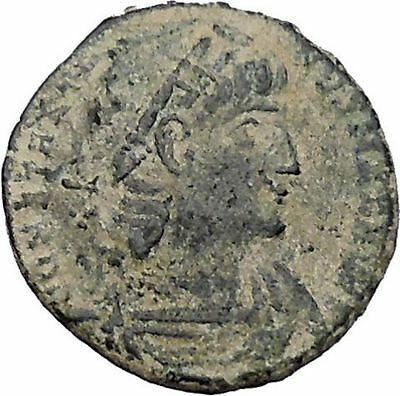 Constantine I The Great 330AD Ancient Roman Coin Glory of Arny Legions i47025