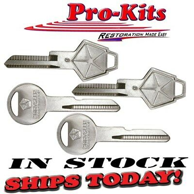 New OEM Mopar Key Blanks Pentastar Dodge Plymouth Chrysler & Trucks