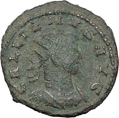 GALLIENUS son of Valerian I Asia mint  Rare Ancient Roman Coin Jupiter i47031