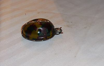 Vintage Wind Up Metal Celluloid Snail or bug CKO 1930's Germany #346 RARE ONE!
